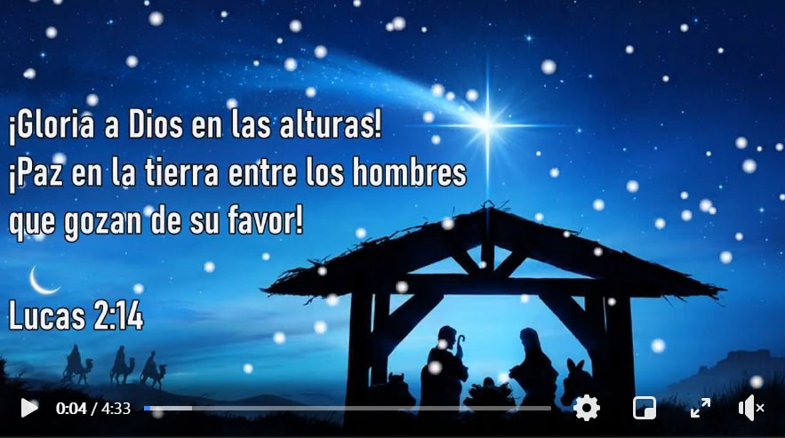 Christmas greetings from our Global Companion Church in Peru